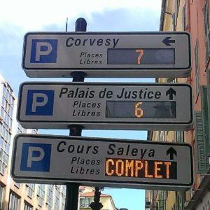 Parkering i Nice 2