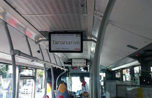 Tydelig information i bussen